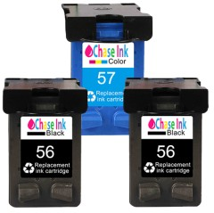HP 56 Black / HP 57 Colour - Remanufactured Ink Cartridge 3-Pack (63.5ml)