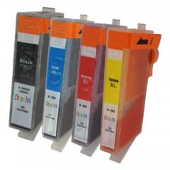 1 multipack - 4 compatible ink cartridges to replace hp 364xl