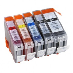 525 526 compatible multipack - 5 high capacity ink cartridges