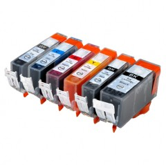 525 526 compatible multipack - 6 high capacity ink cartridges