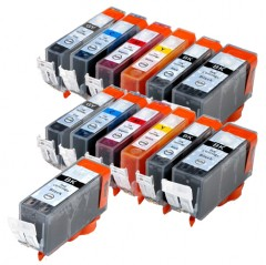 525 526 compatible multipack - 13 high capacity ink cartridges