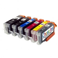Compatible Canon PGI-550 / CLI-551 Ink Cartridge Pack (inc. Grey) - 6 Inks (82ml)
