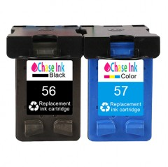 HP 56 & HP 57 Twin Pack - Remanufactured Ink Cartridges (41.5ml)