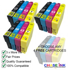 16 Compatible Ink Cartridges To Replace Epson 18 18XL Daisy Series