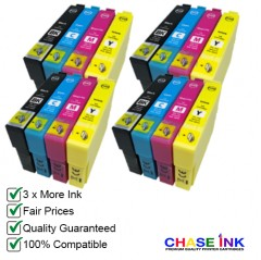 Compatible Epson 603XL Ink Cartridges - 4 Multipacks (BCMY)