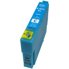 Compatible 603 603XL Cyan Ink Cartridge
