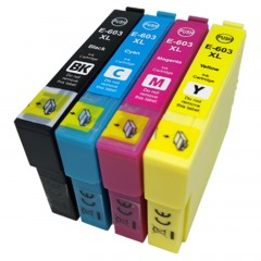 Compatible Epson 603XL - Multipack (BCMY)