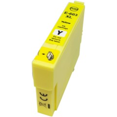 Compatible 603 603XL Yellow Ink Cartridge