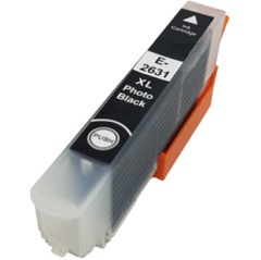 Photo Black - Compatible Ink Cartridge To Replace Epson 26 26XL (12ml)