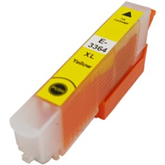 Epson_33XL_T3364_Compatible_Yellow_Ink_Cartridge