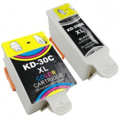 Compatible Kodak 30 XL - 1 Black & 1 Colour