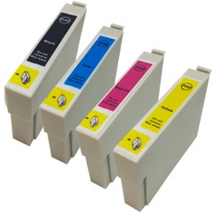 MIX ANY 4 - Compatible Ink Cartridges To Replace Epson T0711 T0712 T0713 T0714