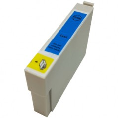 Cyan - 1 Compatible Ink Cartridge To Replace Epson T0552 (18ml)