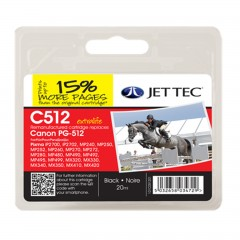 remanufactured canon pg-512 ink cartridge