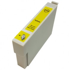 Yellow - 1 Compatible Ink Cartridge To Replace Epson T0554 (18ml)