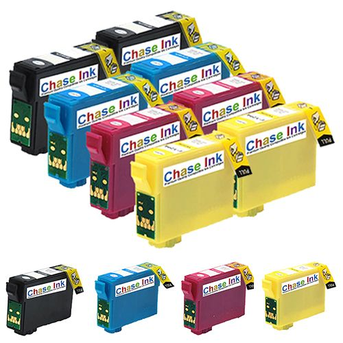 2 Multipacks + Choose 1 FREE Cartridge - 9 Compatible Ink Cartridges To Replace Epson 18/18XL