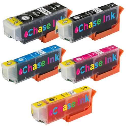 Choose ANY 5 Compatible Ink Cartridges To Replace Epson 33 / 33XL