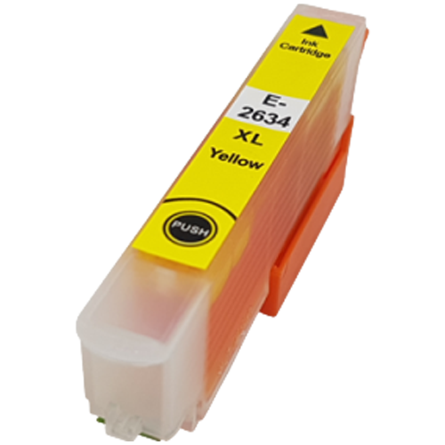 Yellow - Compatible Ink Cartridge To Replace Epson 26 26XL (12ml)